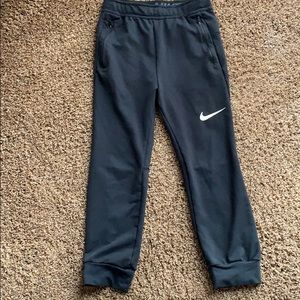Youth Dry-fit Nike sweatpants.